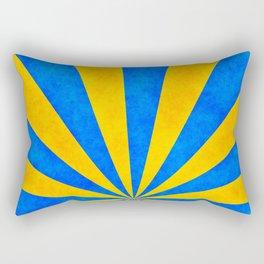 Retro rays Rectangular Pillow