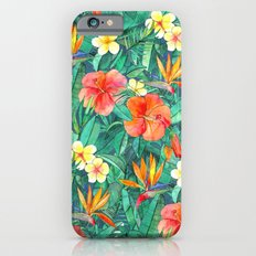 Classic Tropical Garden iPhone 6s Slim Case