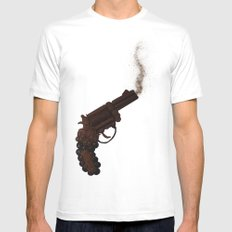 Death By Chocolate MEDIUM Mens Fitted Tee White