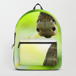 Caterpillar On A Green Plant #decor #society6 #buyart Backpack