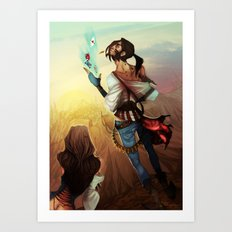 Ace of Hearts Art Print