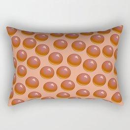 Bubblegum Pop - Chocolate Rectangular Pillow