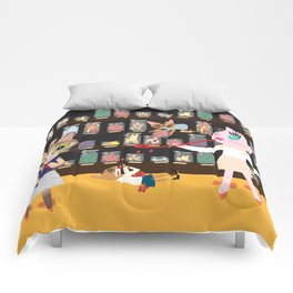 FASHIONISTA CAT CANDY STORE Comforters