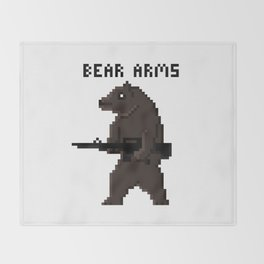 Bear Arms Throw Blanket