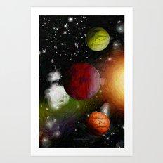 SPACE 10162013 - 052 Art Print