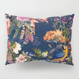 FLORAL AND BIRDS XII Pillow Sham