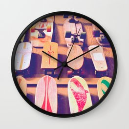 The Dogtown Wall Wall Clock