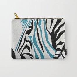 punk rock zebra Carry-All Pouch