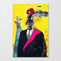 Hey Mom, Look at My New Pipe! Canvas Print