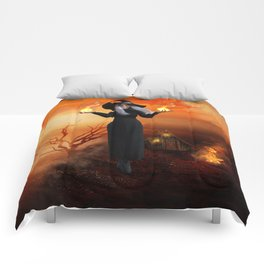 Witch and Fire Comforters