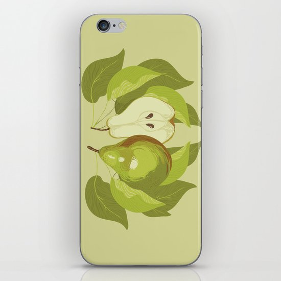 Pear iPhone & iPod Skin