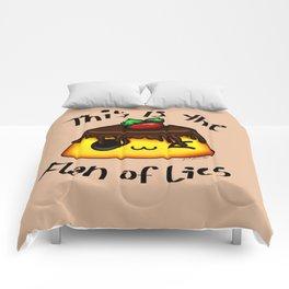 Flan of Lies Comforters