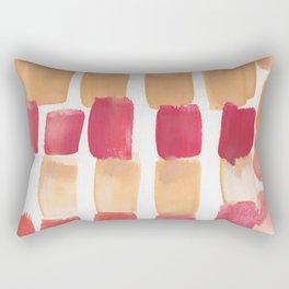 13    190321 Watercolour Abstract Painting Rectangular Pillow