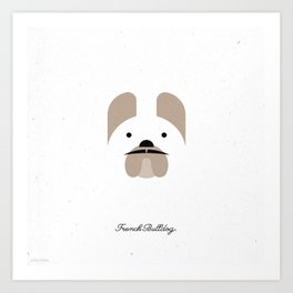 Pedigree: French Bulldog Art Print