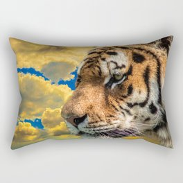 Free Tiger Rectangular Pillow