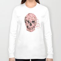 bar Long Sleeve T-shirts featuring A Beautiful Death  by Terry Fan