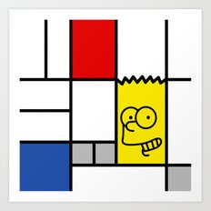 Art Simpson Art Print