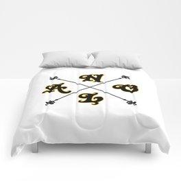 NOLA Cross Marking Comforters