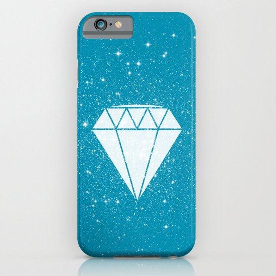 Space Diamond (blue) iPhone & iPod Case
