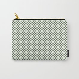 Kale Polka Dots Carry-All Pouch