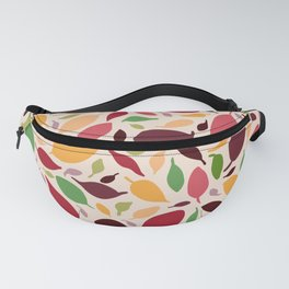 Scatter Leaves Fanny Pack
