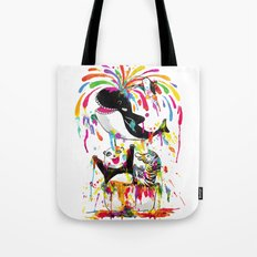 Yay! Bath Time! Tote Bag