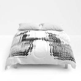 Gay French Kiss Comforters