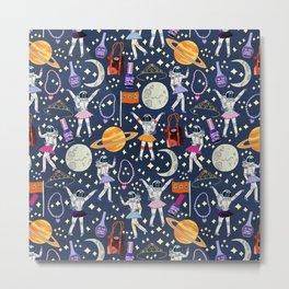 Dancing Across Galaxies Metal Print