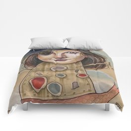 PIRATE ROBOT MERMAID Comforters