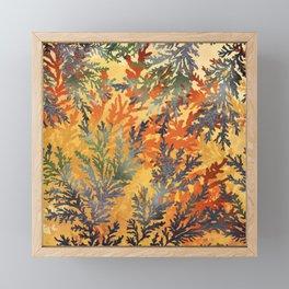 Calico Manganese Dendrite Framed Mini Art Print