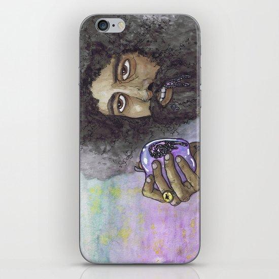 """Reggie Watts"" by Cap Blackard iPhone & iPod Skin"