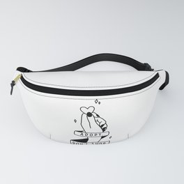 Adopt, don't shop! Fanny Pack