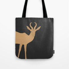 All lines lead to the...Inverted Springbok Tote Bag