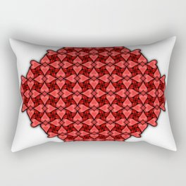 To Heart or Not to Heart Rectangular Pillow