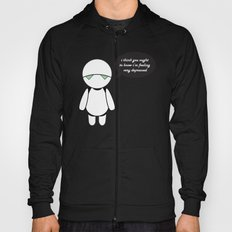 Marvin,  the Paranoid Android Hoody