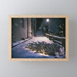 Chrismas Tree Framed Mini Art Print
