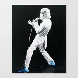 Blue Suede Trooper _ elvis and star wars Canvas Print