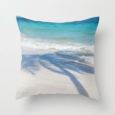 SEA TREE Throw Pillow