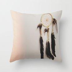 Catcher of dreams Throw Pillow