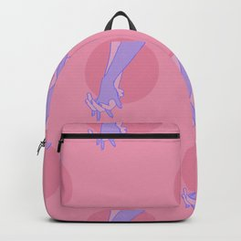 Come with me hands drawing Backpack