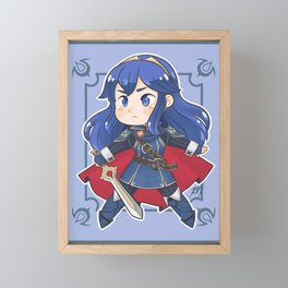 Chibi Lucina Framed Mini Art Print