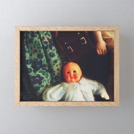 Baby Eyeless Framed Mini Art Print