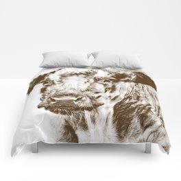 Ardnamurchan Coo - Brown Comforters