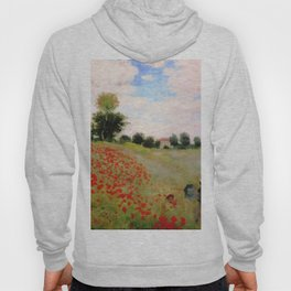 POPPIES - CLAUDE MONET Hoody