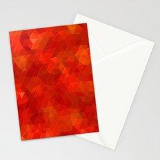 Orange Flames Stationery Cards