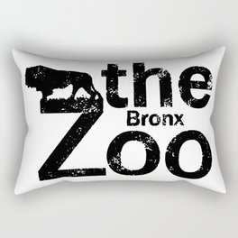 THE BRONX ZOO BLACK 2 Rectangular Pillow