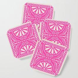 Fiesta de Flores Pink Coaster