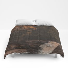 Tahquamenon Falls II Comforters