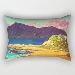 One Good Day at Naga Rectangular Pillow