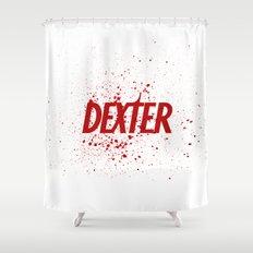 Dexter#01 Shower Curtain